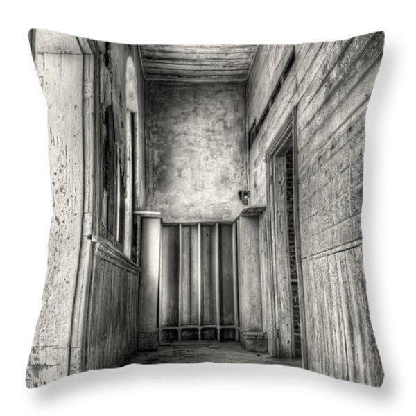 School Days Long Past Throw Pillow by Scott Norris