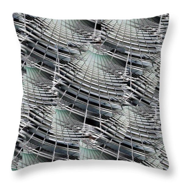 Scraper Throw Pillow by Tim Allen