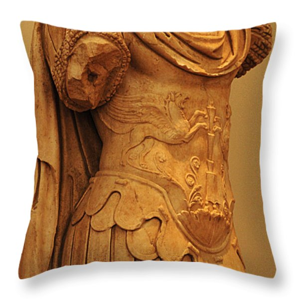 Sculpture Olympia 2 Throw Pillow by Bob Christopher