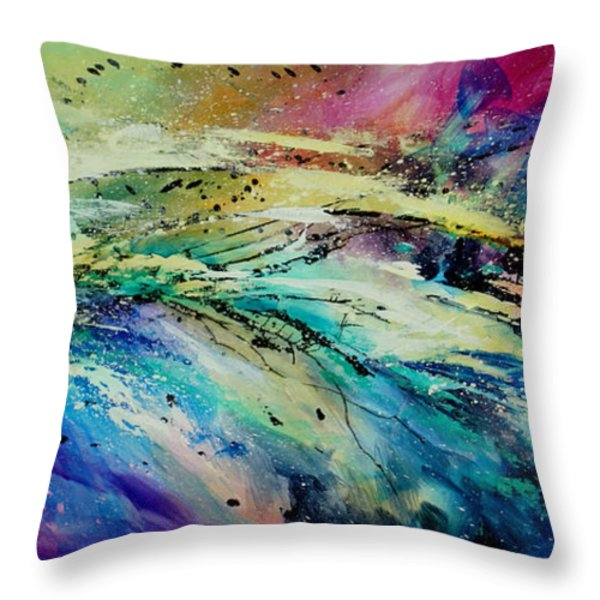 Sea Of Souls Throw Pillow by Michael Lang
