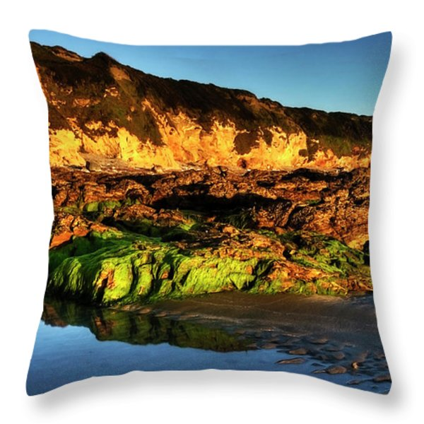 Sea Side Throw Pillow by Svetlana Sewell