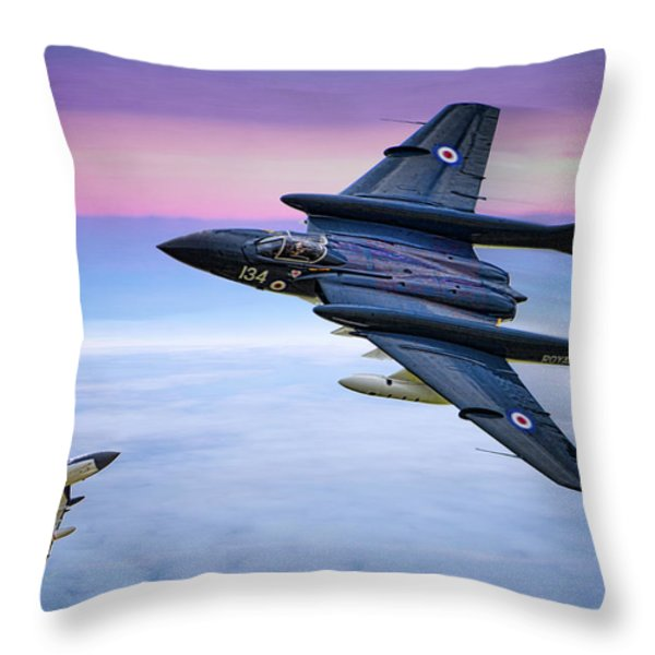 Sea Vixens At Play Throw Pillow by Chris Lord