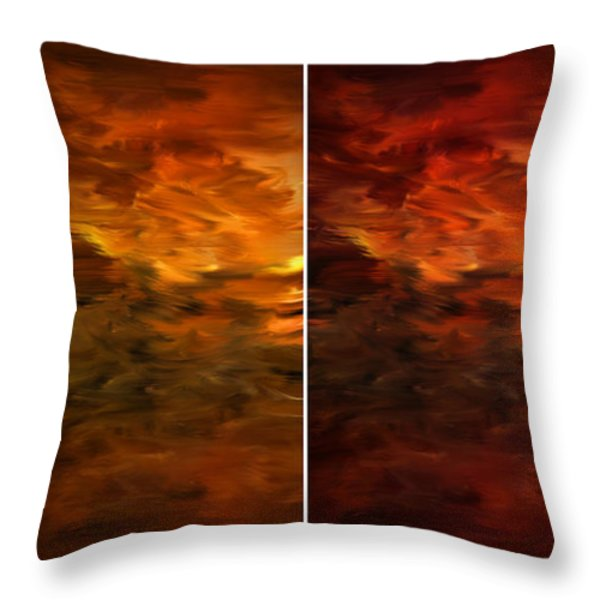 Seasons Change Throw Pillow by Lourry Legarde
