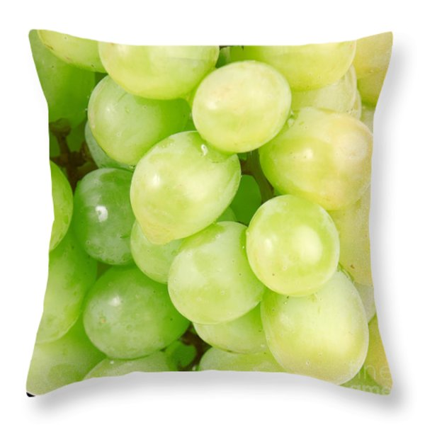 Seedless Throw Pillow by Cheryl Young