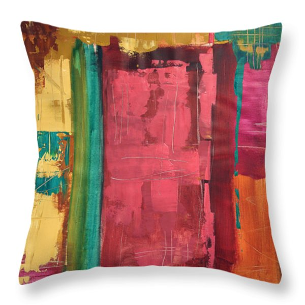 Seek And You Shall Find Throw Pillow by Anthony Falbo