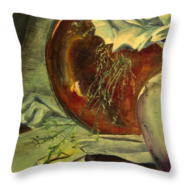 Seek Learning Throw Pillow by Jane Autry