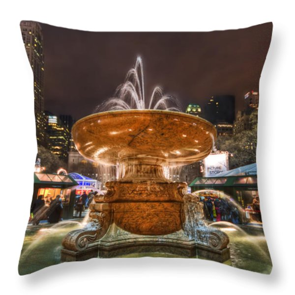 Serenade Me Throw Pillow by Evelina Kremsdorf