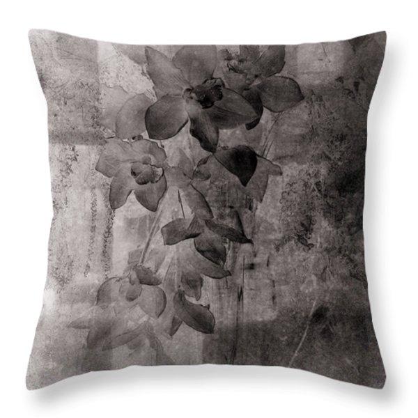 Serenade Throw Pillow by Susanne Van Hulst