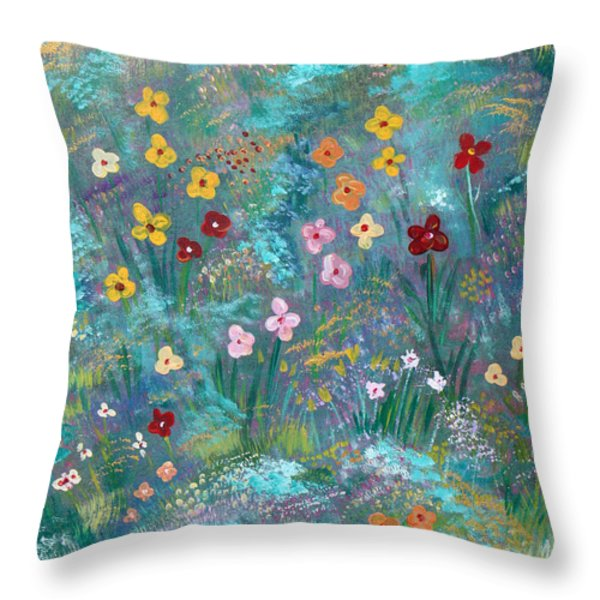 Serenity Throw Pillow by John Keaton