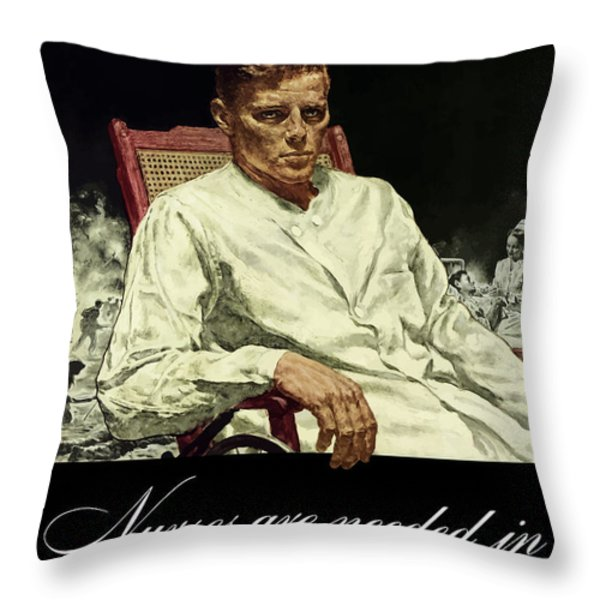 Serve Those Who Served Throw Pillow by War Is Hell Store