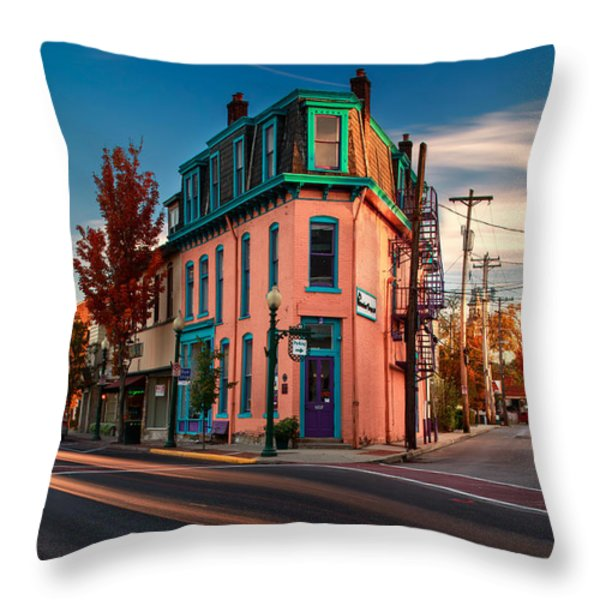 Sewickley 1  Throw Pillow by Emmanuel Panagiotakis