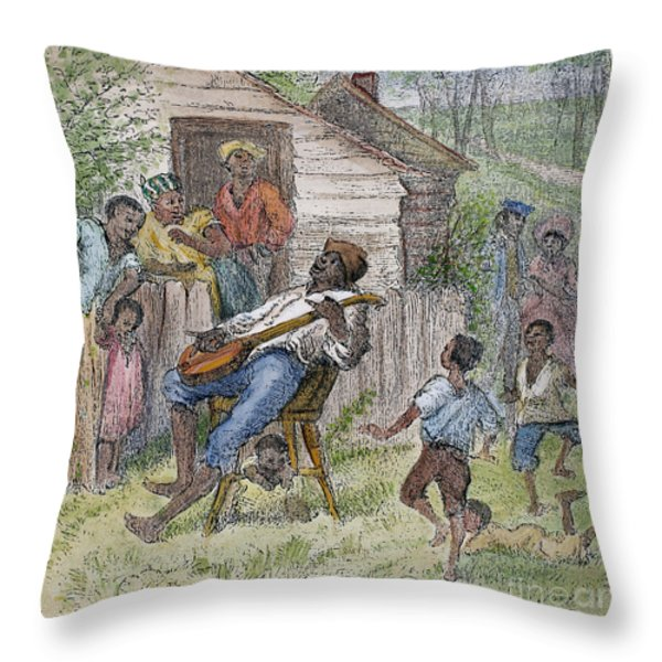 Sharecroppers, 1876 Throw Pillow by Granger
