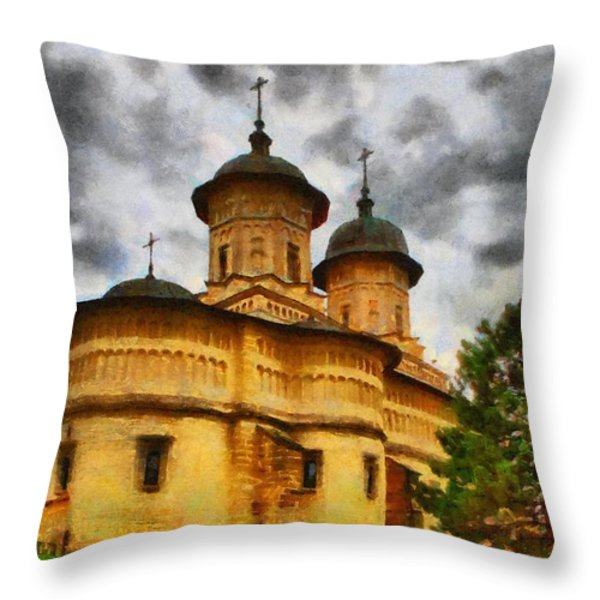 Shelter From The Coming Storm Throw Pillow by Jeff Kolker