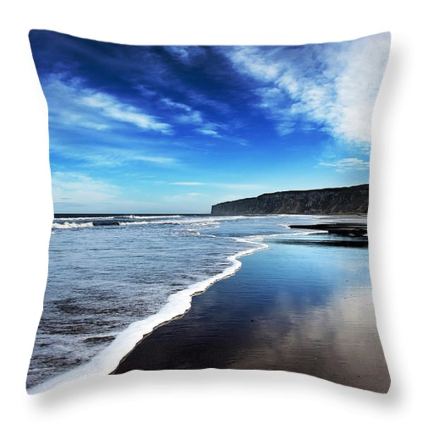 Shoreline Throw Pillow by Svetlana Sewell