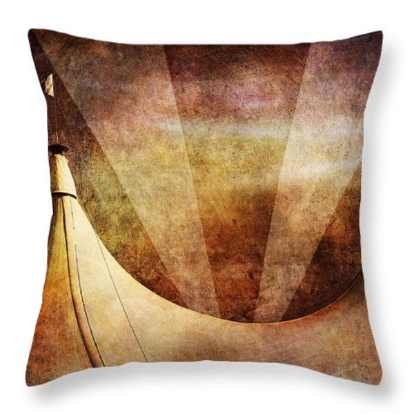 Showtime Throw Pillow by Andrew Paranavitana