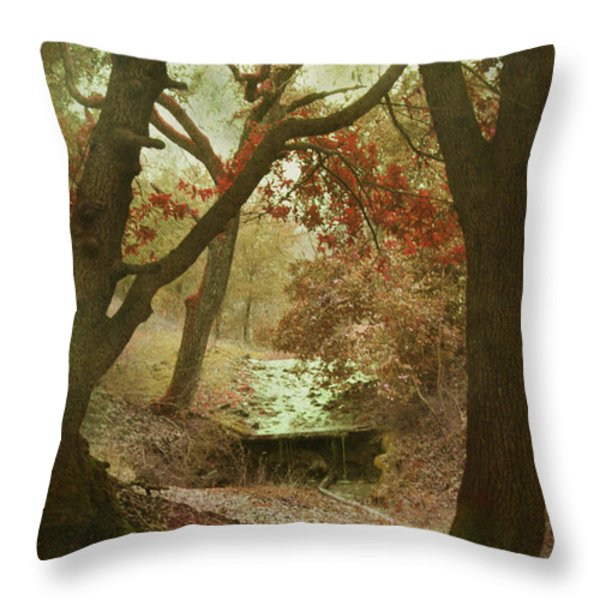 Sighs of Love Throw Pillow by Laurie Search