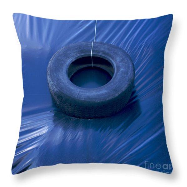 Silage Throw Pillow by Bernard Jaubert