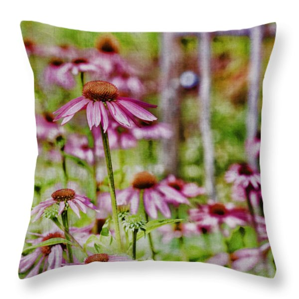 Simple Beauty Throw Pillow by Bonnie Bruno