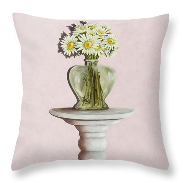 Simple Things Throw Pillow by Mary Ann King