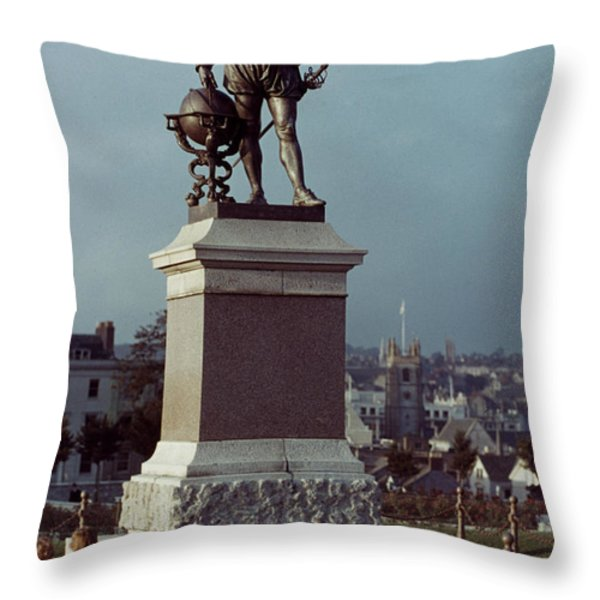 Sir Francis Drake Throw Pillow by Granger