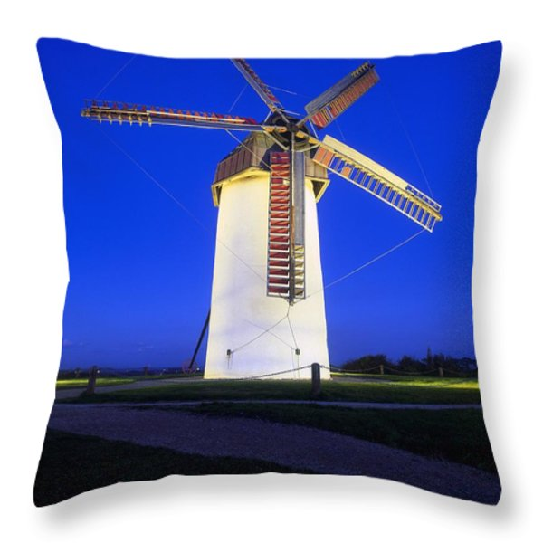 Skerries Mills Co Fingal, Ireland Throw Pillow by The Irish Image Collection