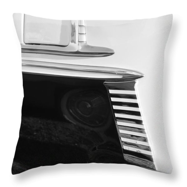 Sleek Throw Pillow by Luke Moore