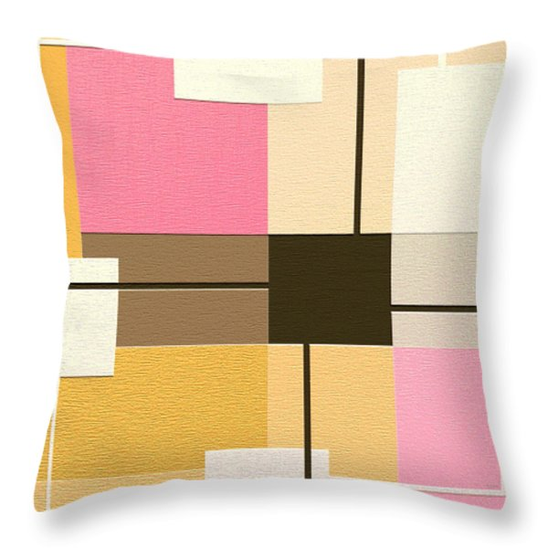 Slide Throw Pillow by Ely Arsha
