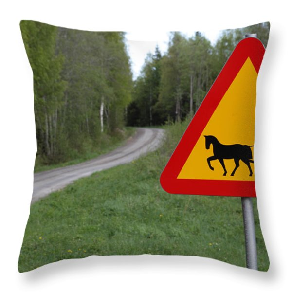 Slow times Throw Pillow by Intensivelight