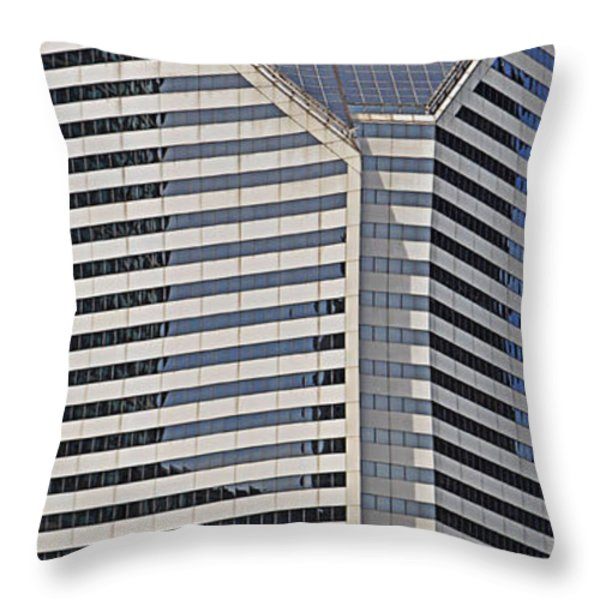 Smurfit And The Bean Throw Pillow by Mary Machare