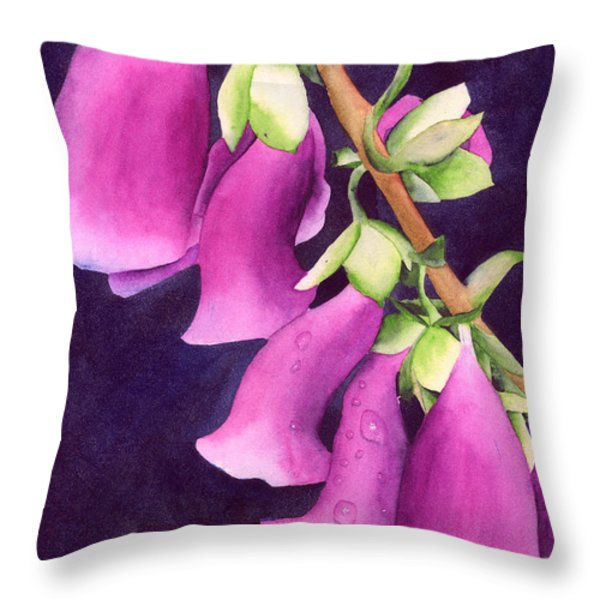 Snoqualmie Dew Throw Pillow by Ken Powers