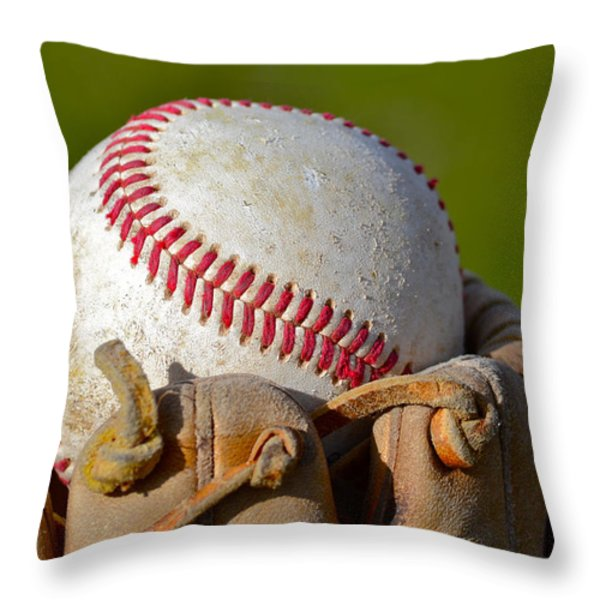 Snow Cone Throw Pillow by Bill Owen