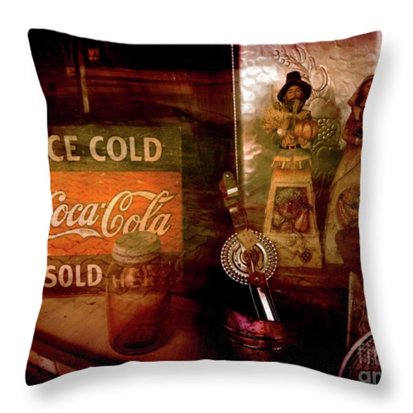 Sold Out Throw Pillow by Susanne Van Hulst