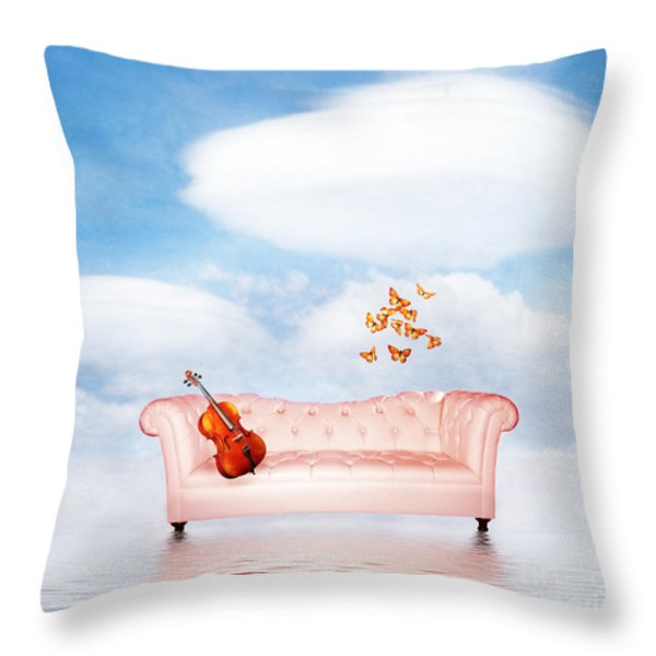 Sometimes...all I Need Throw Pillow by Jacky Gerritsen