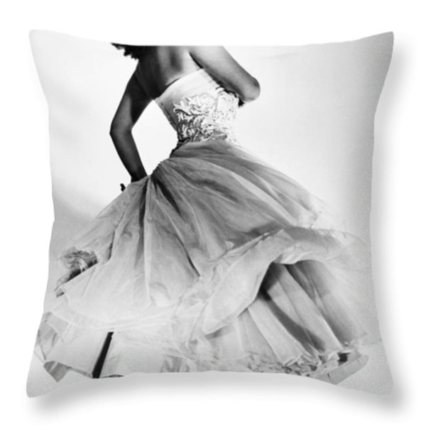 Sophia Loren (1934-  ) Throw Pillow by Granger