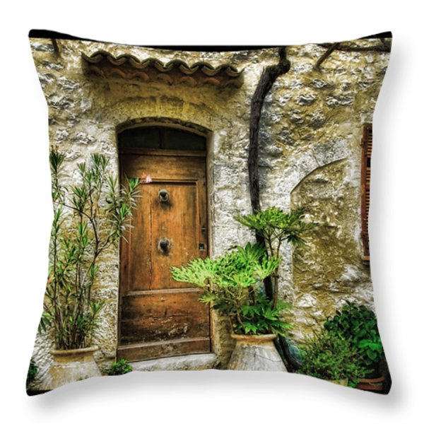 South of France 1 Throw Pillow by Mauro Celotti