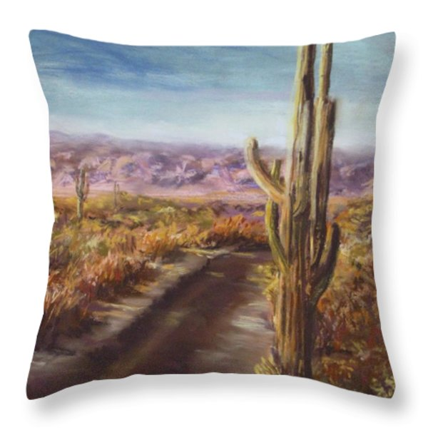 Southern Arizona Throw Pillow by Jack Skinner