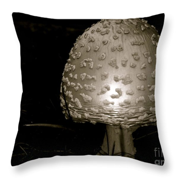 Space Oddity Earthling Throw Pillow by Trish Hale