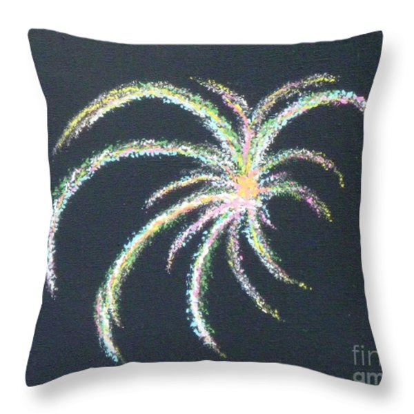 Sparkler Throw Pillow by Alys Caviness-Gober
