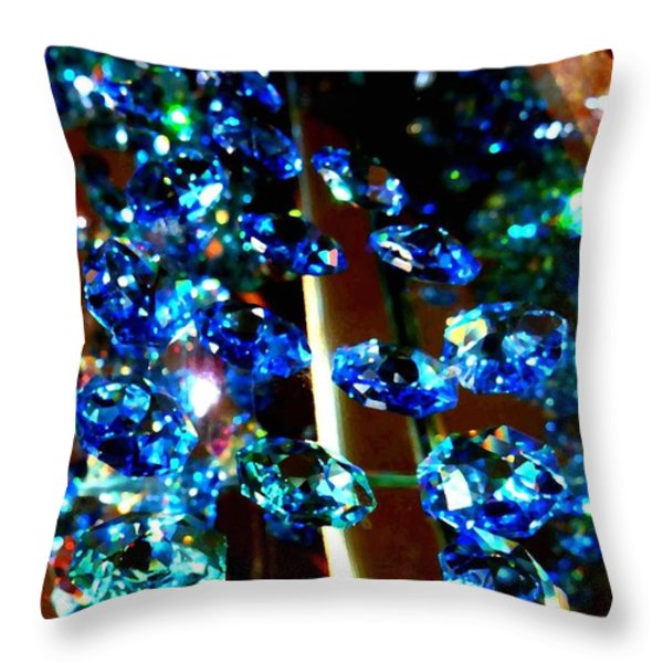 Sparkling Hill Resort 7 Throw Pillow by Will Borden