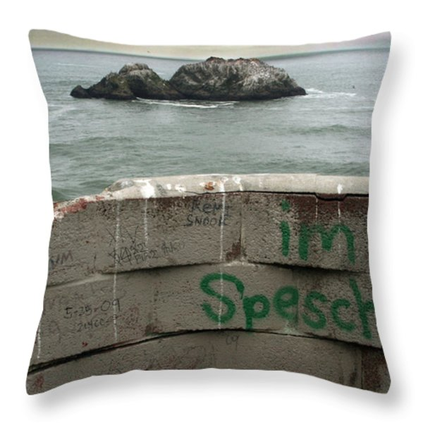 Special Throw Pillow by Laurie Search