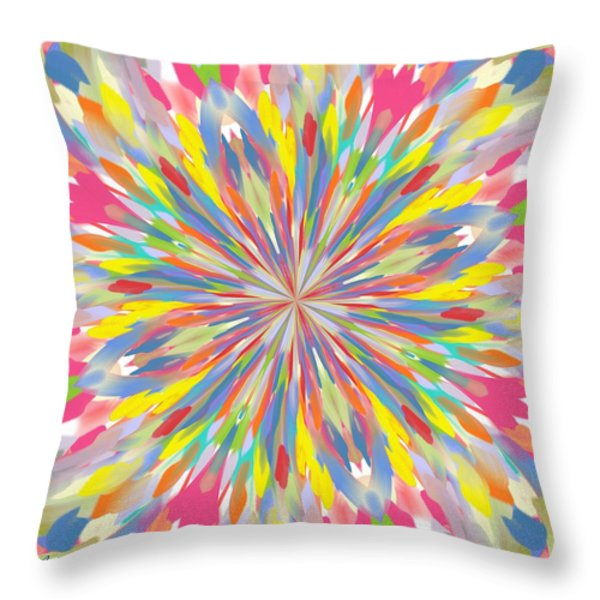 Spring Is Bursting Out Throw Pillow by Alec Drake