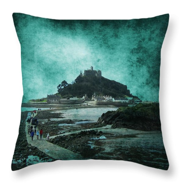 St Michaels Mount Throw Pillow by Svetlana Sewell