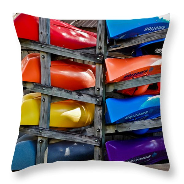 Stacked Emotions Throw Pillow by DigiArt Diaries by Vicky B Fuller