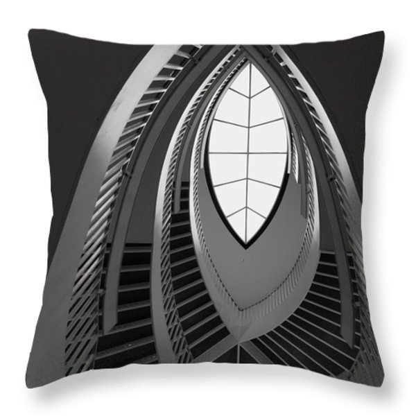 Stairs Throw Pillow by Anna Villarreal Garbis