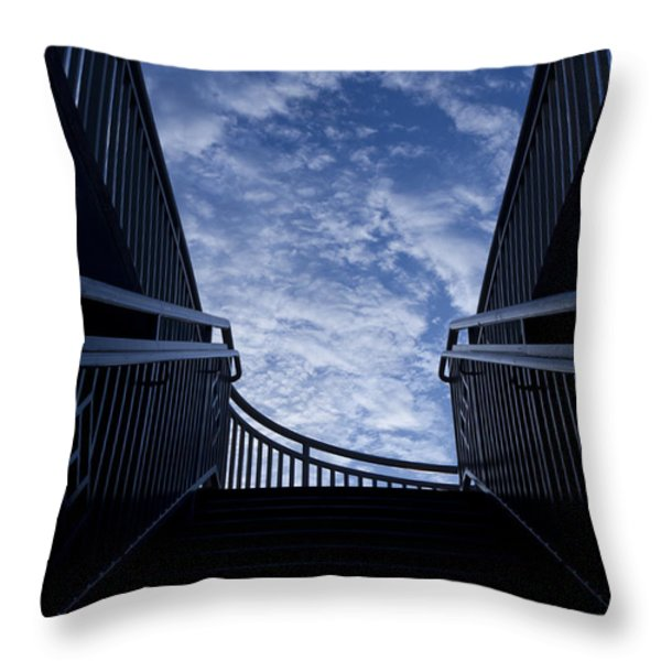Stairway to Heaven Throw Pillow by Joel Witmeyer