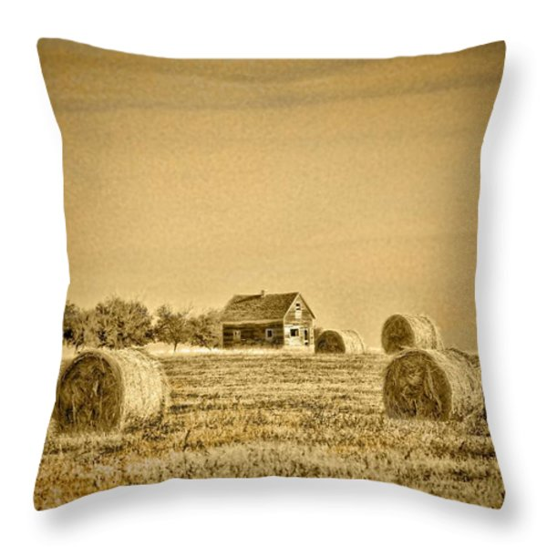 Standing Proud Throw Pillow by Vickie Emms
