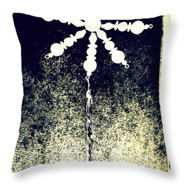 Star Bright Throw Pillow by Diane montana Jansson