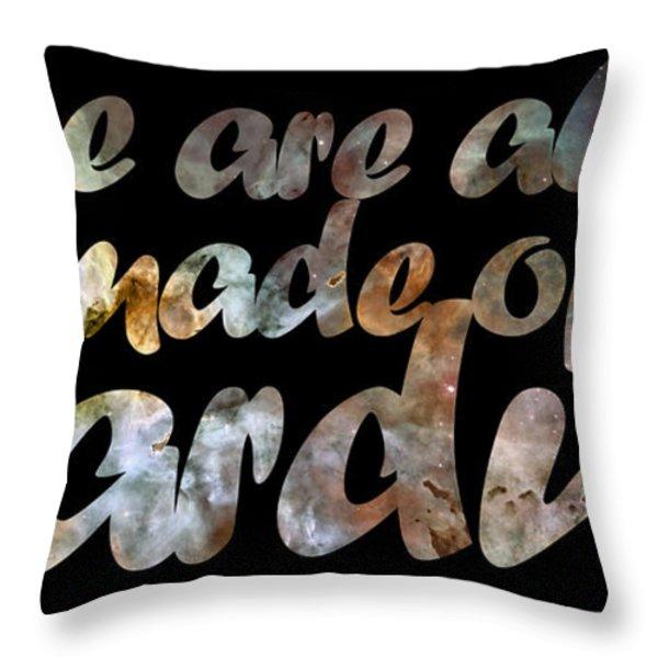 Stardust Throw Pillow by Nikki Marie Smith
