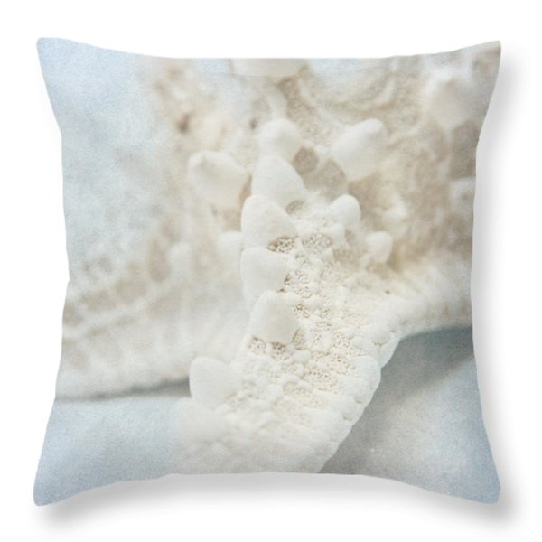 Starfish Throw Pillow by Angela Doelling AD DESIGN Photo and PhotoArt