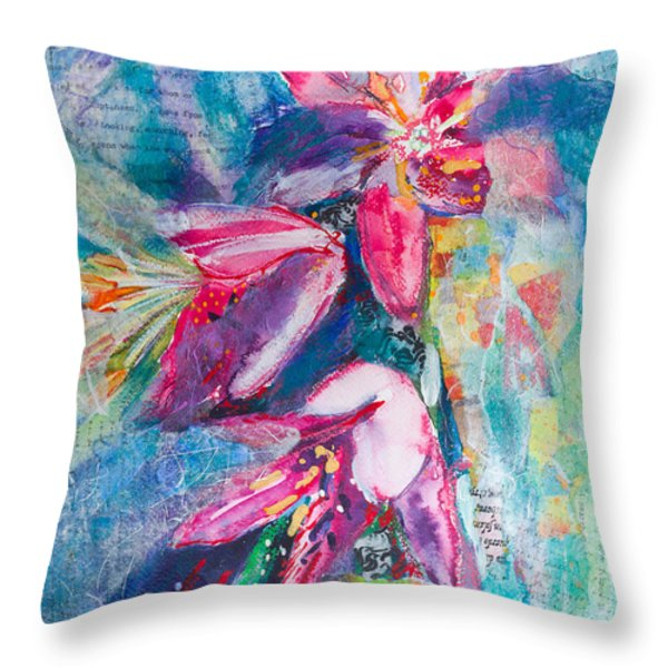 Stargazing Throw Pillow by Kate Bedell
